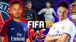 £1,000 FIFA 18 WAGER!!! BILLY VS JEZZA | REAL MADRID VS PSG | LG Super UHD Nano Cell TV