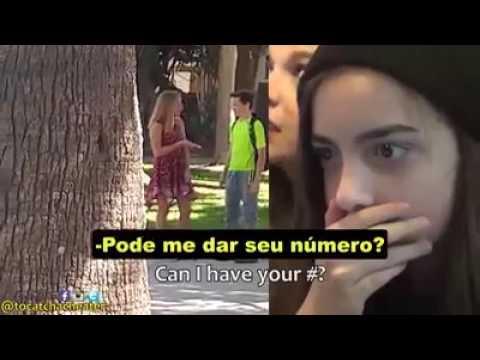 Teste de Fidelidade Teen Legendado (Young Girl setups her 13 Year old Boyfriend)