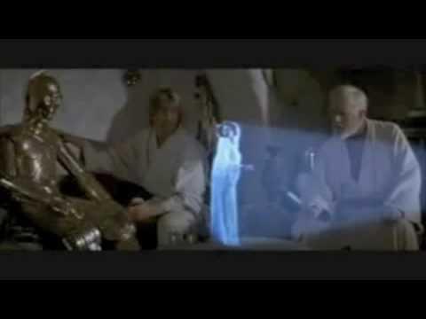 Help me Obi Wan Kenobi you're my only hope