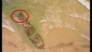 """وجدوا هذا الشيء على """" الشاطئ في أمريكا """" ولم يعرف الجميع ماهو في البداية"""