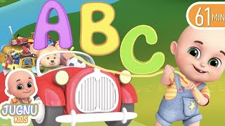 ABC Songs - Alphabet Song learning for kids  - Learn English with Songs for Children | Jugnu Kids