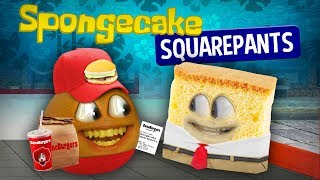 Annoying Orange - Spongecake Squarepants!