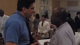 Lou Ferrigno & Leroy Colbert at Joe Weider