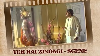 Sanjeev Kumar fights with God for his Karma - Yeh Hai Zindagi