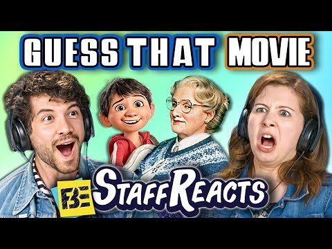 GUESS THAT MOVIE CHALLENGE 8 ft. FBE STAFF