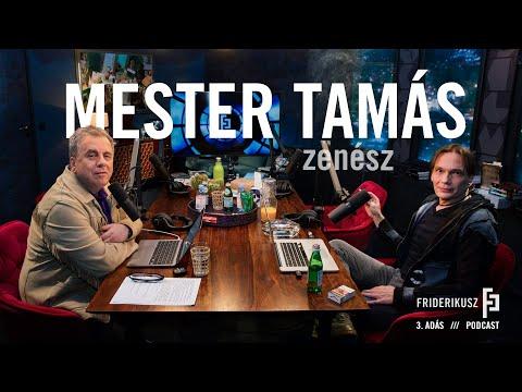 Mester Tamás zenész a Friderikusz Podcast 3. adása
