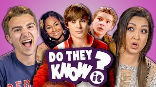DO ADULTS KNOW DISNEY CHANNEL ORIGINAL MOVIES? (REACT: Do They Know It?)