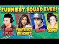 Myth, Pokimane, Cizzorz, Valkyrae! Funniest Squad Ever! Fortnite Battle Royale Highlights Moments!