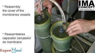 Changing Reverse Osmosis Membranes ESPA 4040  --  Schimbare Membrane Osmoza ESPA 4040