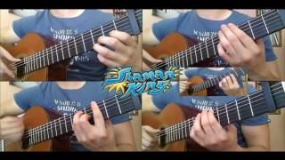 Shaman King English ( Western ) Opening Classical Guitar Cover シャーマンキング