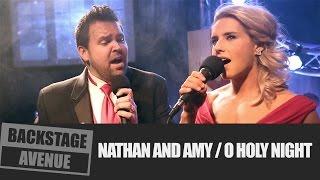 O Holy Night - Nathan Osmond & Amy Whitcomb - Backstage Avenue Christmas