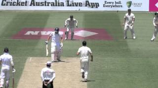 Aussie quicks shred England @ The SCG, day 2, 5th Ashes Test 2014: 155 all out.