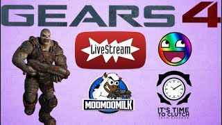 (LIVE) MooMooMiLK Clutches Gears of War 4 Everything HI FANS