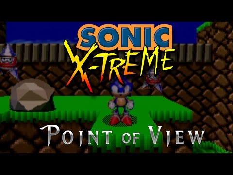 Sonic X treme Unseen POV Build on Sega Saturn ProtoMedia