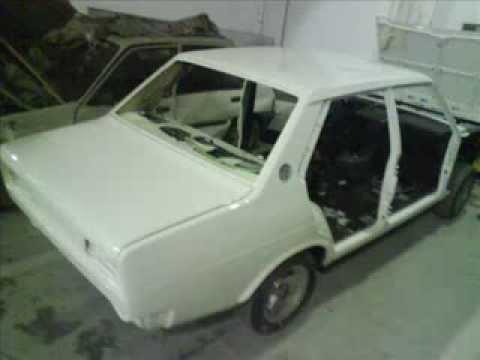 Restauración Seat 131 Supermirafiori