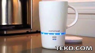 No More Cold Coffee with the Nano Heated Wireless Mug