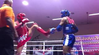 ISNK Hyderabad: 3. Sameer @ 13 National Senior Muay Thai Championship