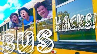 SAVAGE School Bus Hacks Do Not Try!
