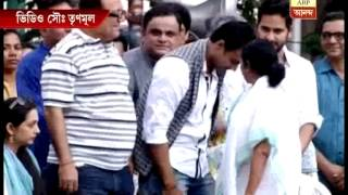 TMC's matyrs' day rally: Mamata at stage along with Deb and other party leaders