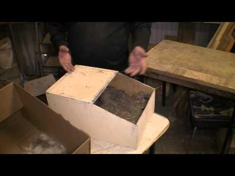 Как сделать ящик для кроликов