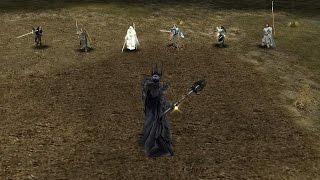 Sauron vs Gondor heroes
