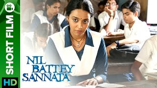 Nil Battey Sannata | The New Classmate | Short Film
