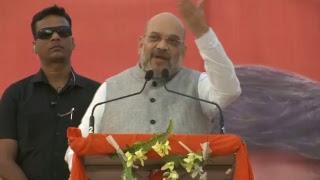 Shri Amit Shah addresses public meeting in Damoh, Madhya Pradesh