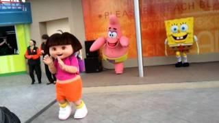 Dora and friends at Nickleodeon world blackpool pleasure beach