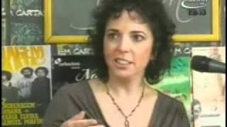 Julie Koidin no programa Em Cartaz parte 1 de 2