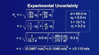 Experimental Uncertainty