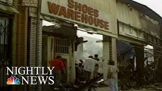 LA Riot Looters: 'A Colorblind Orgy Of Wrecking And Taking' | NBC Nightly News