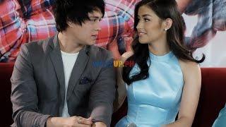 Part 1 - Just The Way You Are Movie Grand Presscon with Liza Soberano Enrique Gil