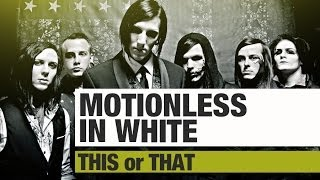 THIS or THAT w/ Ricky & Chris of MOTIONLESS IN WHITE