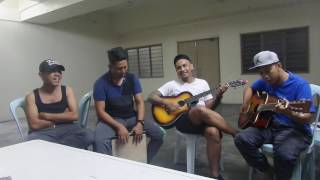 Mengusung Rindu acoustic cover by Spin