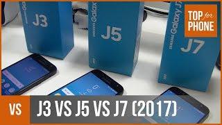 SAMSUNG GALAXY J3, J5, J7 (2017) : méga-comparo par TFP
