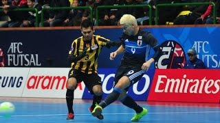 MALAYSIA v JAPAN: AFC Futsal Championship 2016 (Group Stage)