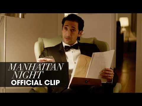 Manhattan Night (2016 Movie – Adrien Brody, Jennifer Beals, Yvonne Strahovski) – Official Clip