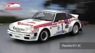 ck-modelcars-video: Porsche 911 SC Rallye San Remo Walter Röhrl OttOmobile