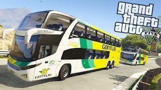 GTA V BusVlog: Viação Gontijo Marcopolo G7 DD Paradiso 1800