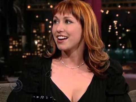 Kari Byron Late Show With David Letterman 16 01 06