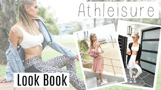 Athleisure Look Book - How To Style! | Rebecca Louise