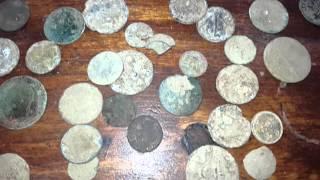 Wykopki. Jak wyczyścić monety ?