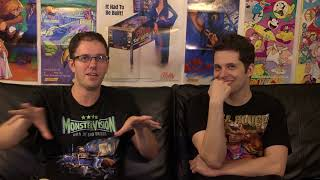 "James Rolfe tells his ""invisible"" Super C story to Mike Matei"