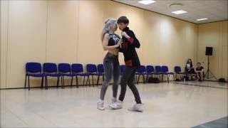 Wojtek Kiz & Sara Lopez - URBAN KIZ on Vamos Ficar Por Aqui by C4 PEDRO - KIZZDAYS 2016