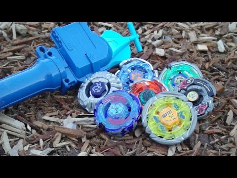 ~Outdoor Beyblade Battle Series #2: Wood! (Viewer Requested)