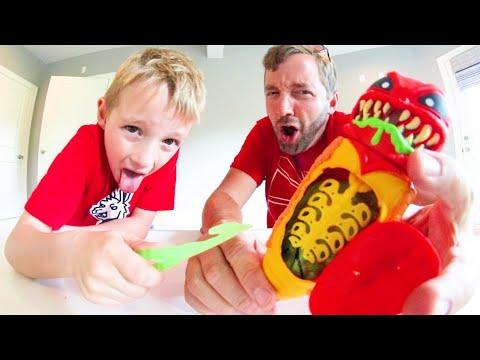 Father & Son DISSECT GROSS ALIEN BUG Treasure Inside