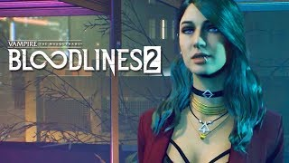 Vampire The Masquerade: Bloodlines 2 - Extended Gameplay Reveal Trailer   E3 2019
