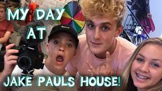 My Day at Jake Paul's House!