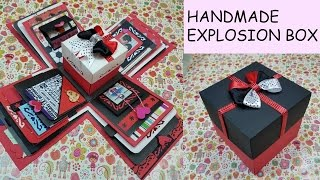Gift idea/Explosion Box for friend/surprize box/birthday gift/Handmade Explosion box