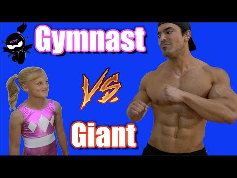 Xxx Mp4 Gymnast Vs Giant Who Is Stronger Payton Or The Bodybuilder 3gp Sex
